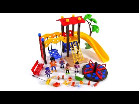 playmobil city life playground set review youtube. Black Bedroom Furniture Sets. Home Design Ideas