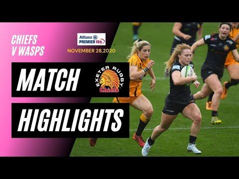 Exeter Chiefs Women v Wasps Ladies - Allianz Premier 15s Match Highlights