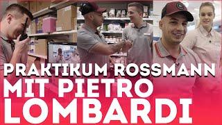 Praktikum bei Rossmann mit PIETRO LOMBARDI | Ein Aaron für alle Fälle