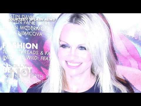 Pamela Anderson NO BOOB SHOW At Coco Eco Magazine Event
