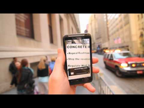 protestAR & the Augmented Reality Occupation of Wall Street -- Global Call