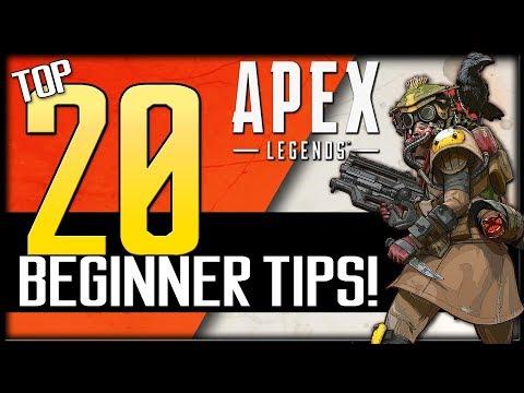 Top 20 Apex Legends Beginner Tips! | How to Improve & Win More Games!
