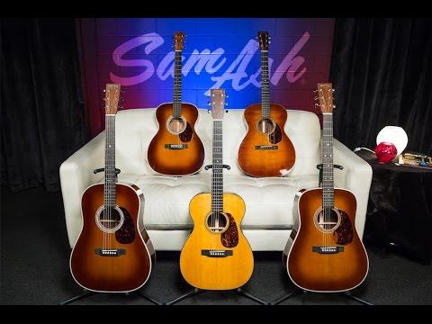 Sam Ash LIVE - Episode 37: Guitars of Distinction - Pt. 1 of our look at Martin Guitar's