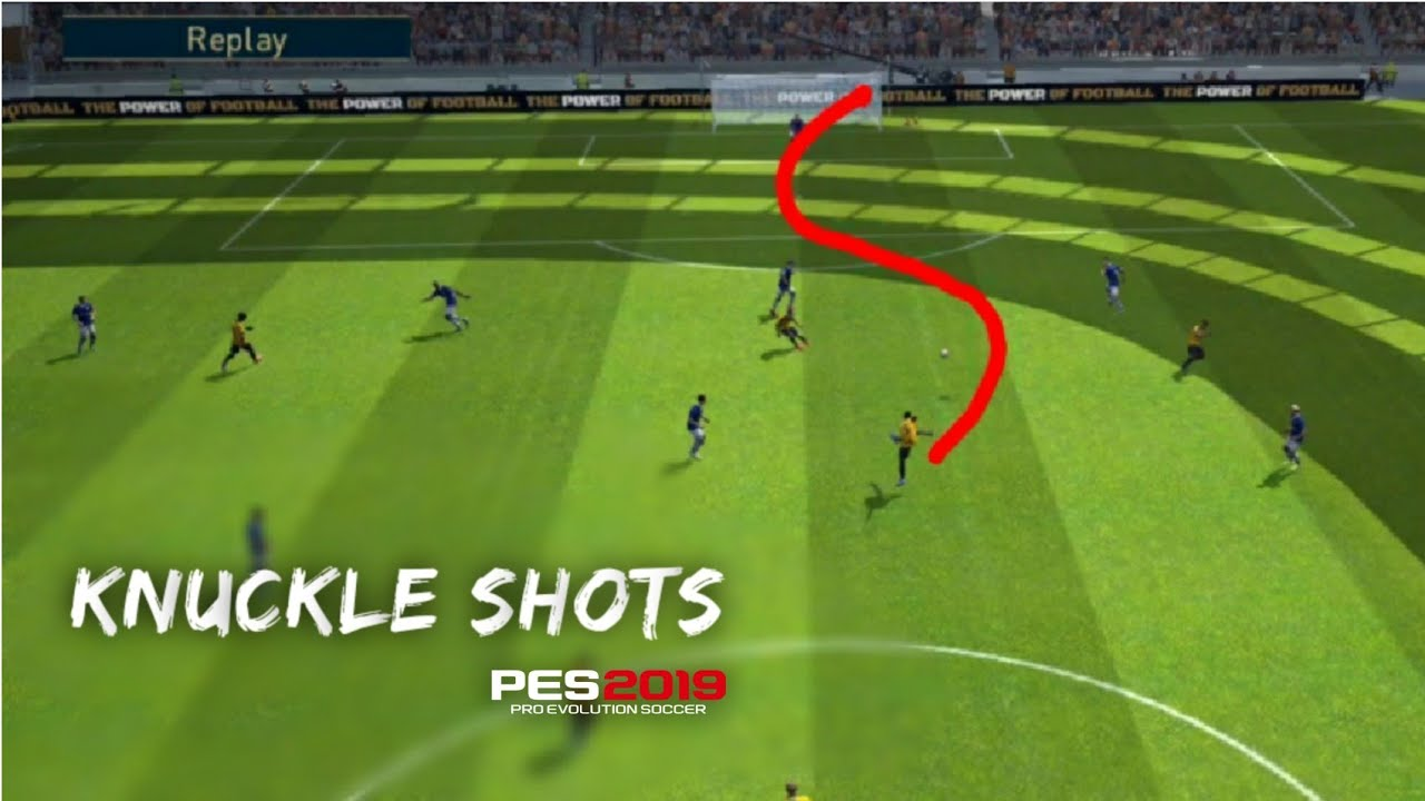 Creating KNUCKLE Shots __Pes 19 Mobile