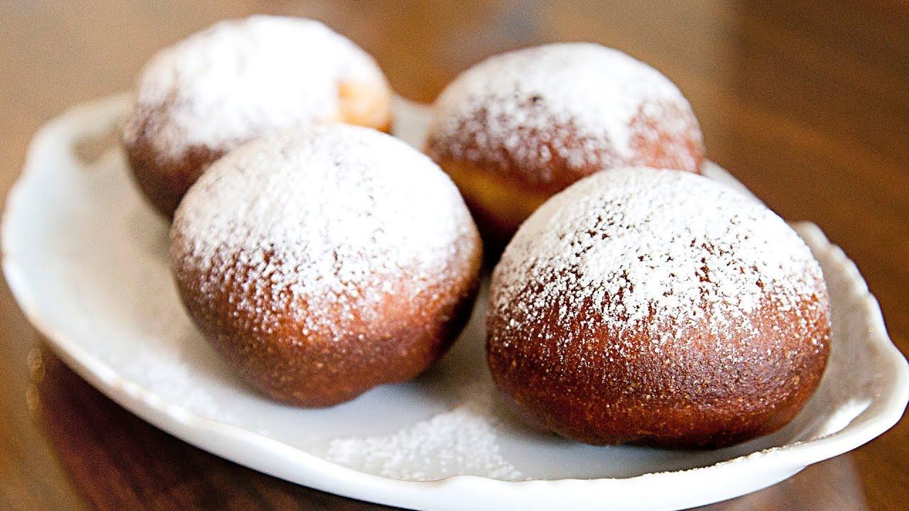 Donuts - Paczki - Ania's Polish Food Recipe #9 - YouTube