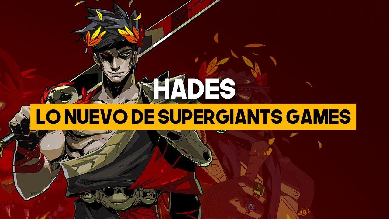 HADES: Lo nuevo de Supergiant Games Trailer TGA 2018