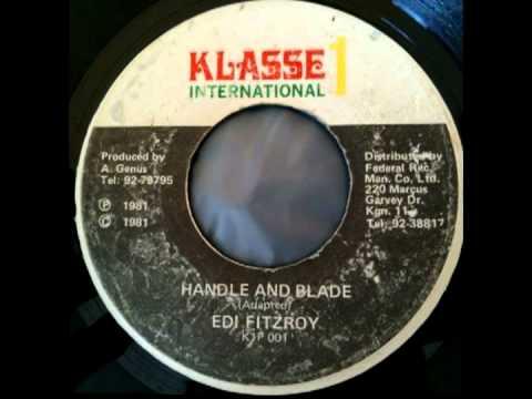 EDI FITZROY - Handle and blade + first aid (1981 Klasse 1 international)