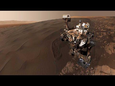 NASA's Curiosity rover send super cool selfies