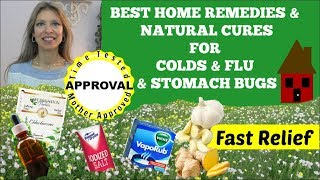 Best Home Remedies & Natural Cures For Coughs, Colds, Flu, Stomach | Fast Relief of Symptoms | Haul