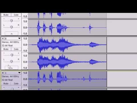 how to get vocals from a song using audacity