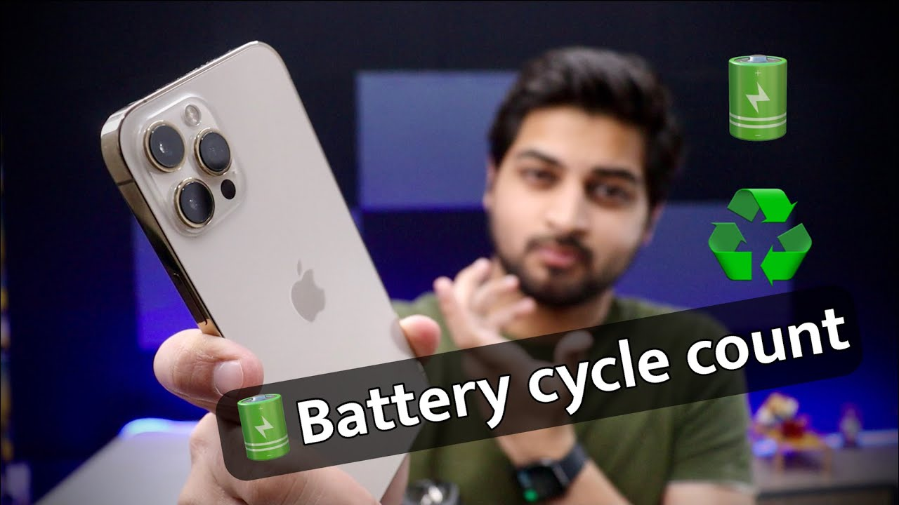 How To Check iPhone Battery Charging Cycle Count in Hindi | Mohit Balani