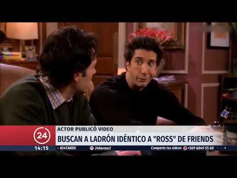 Policía inglesa busca a ladrón idéntico a actor de la serie Friends
