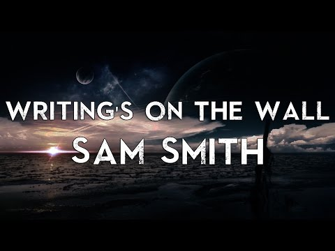 Sam Smith - Writing's On The Wall | Official Karaoke Instrumental Lyrics Cover James Bond 007