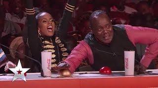 Another Golden Buzzer moment! Makorokocho Get The Golden Buzzer On East Africa's Got Talent
