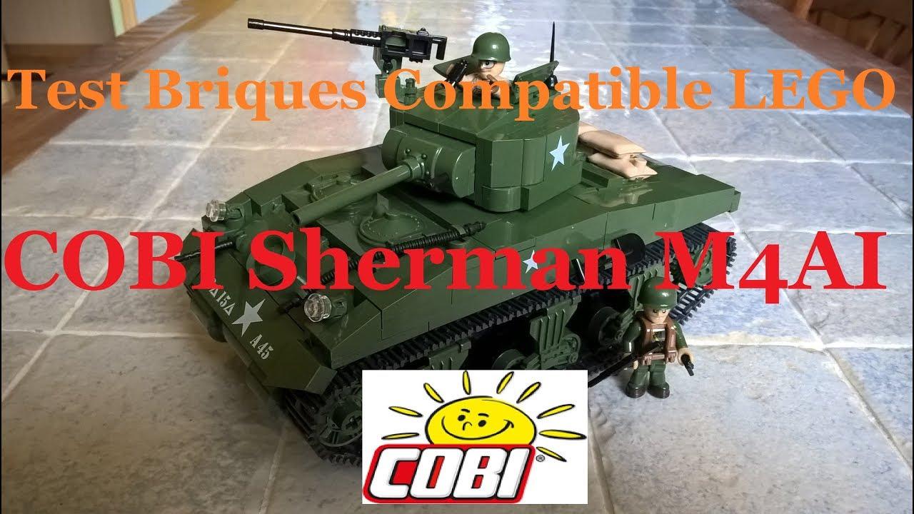 Lego Autres De Construction M4aiCompatible Et Cobi Briques Test Tank Sherman v6gIfyYb7
