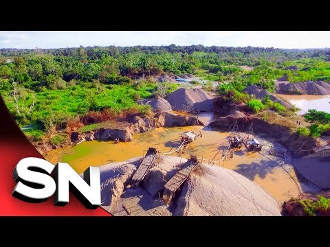 Peru Gold | Real Destruction Of Illegal Gold Mines On Amazon Rainforest Revealed | Sunday Night