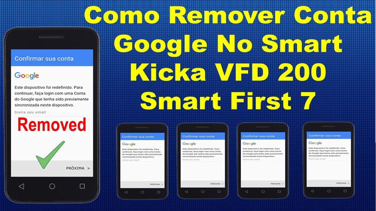 Como Remover Conta Google No Vodafone Smart Kicka 2 VFD