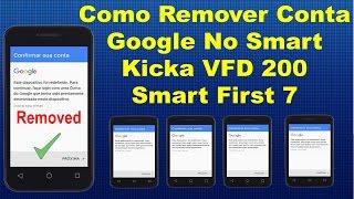 Como Remover Conta Google no Vodafone Smart Kicka 2 VFD 200 - Smart First 7 VFD 200