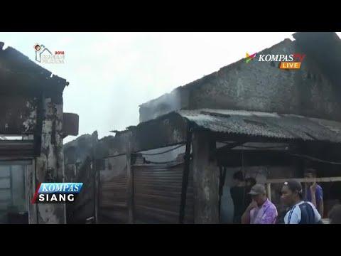 Kebakaran Hanguskan Belasan Kios di Pasar Rengasdengklok Mp3
