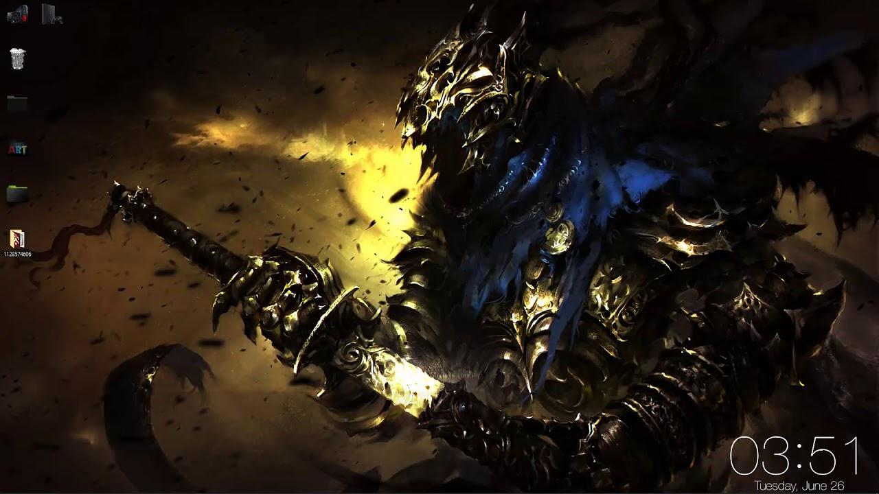 Wallpaper Engine Artorias Dark Souls Live Wallpapers Free Youtube