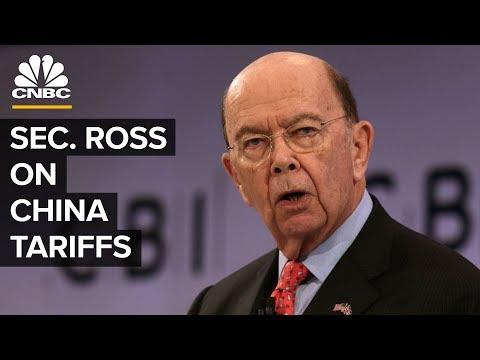 Wilbur Ross On US-China Trade War And Retaliation
