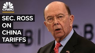 Wilbur Ross On US-China Trade War And Retaliation