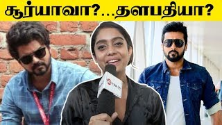 Bigg Boss Abhirami's Next With Vijay Or Suriya?