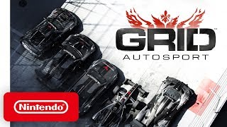 GRID Autosport - Release Date Trailer - Nintendo Switch