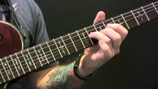 Seether Careless Whisper Guitar Tutorial