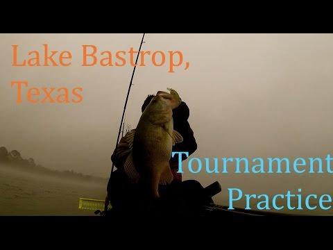 Texas Bass Fishing: Lake Bastrop [KATS Practice]