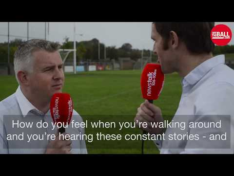 Stephen Rochford on dealing with Mayo's history and 'the curse'