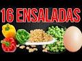 TOP 16 Recetas de ENSALADAS DE PASTA FRÍA Y VERDURAS para GANAR DINERO en tus NEGOCIOS DESDE CASA