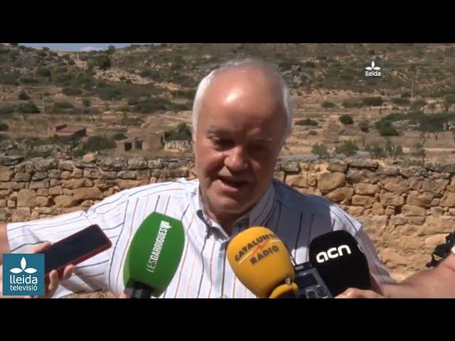 Lleida TV notícies, 23-07-2018:  Identificat el primer cos de les fosses del Soleràs