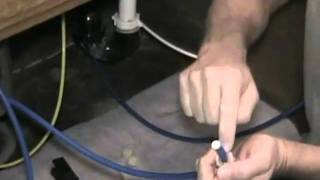 How To Install A Ice Line From A Reverse Osmosis Water Filtration System To Your Refrigerator