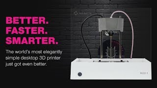The MOD-t (2nd Gen) 3D Printer Better. Faster. Smarter. New Technolo Tech World