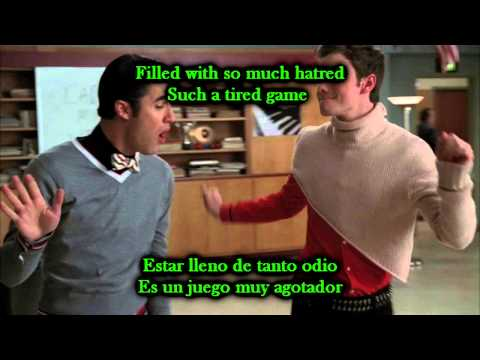 Glee - Perfect / Sub spanish with lyrics
