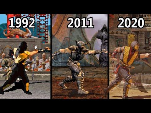 Evolution of Scorpion's