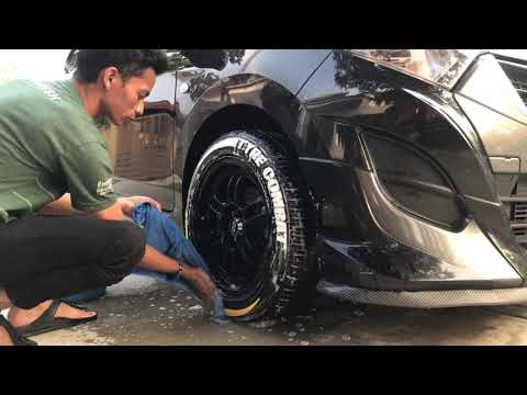 Tyre Stickers Cleaning Tutorial! TYRE COMBAT presents.