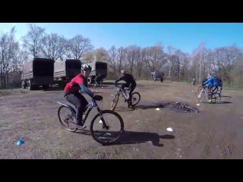 20160409 S2B Les 2 oefening bochten leren rijden