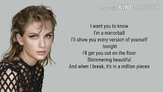 Taylor Swift - Mirrorball lyrics