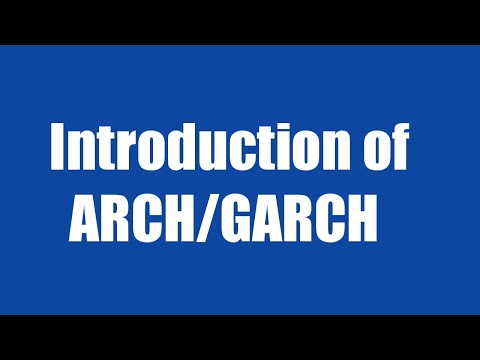10.1: Introduction Of GARCH