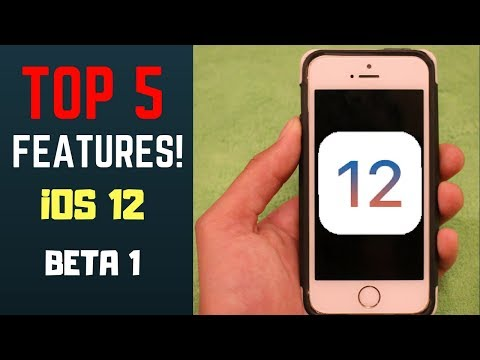 iOS 12 on iPhone 5s! - Top 5 Features!