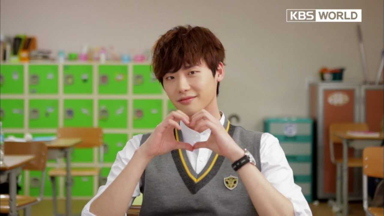 Image result for lee jong suk school 2013