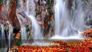 In The Lord Alone