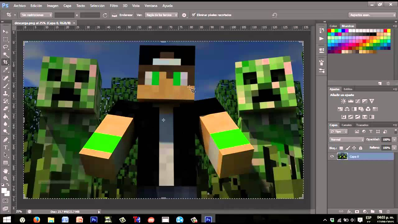 Youtube Videos Of Minecraft Como hacer banner de m...