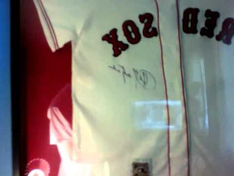 Red Sox Autographed Carl Yastrzemski Jersey for MrDSBXFinest