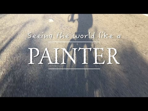 Seeing the world like a Painter