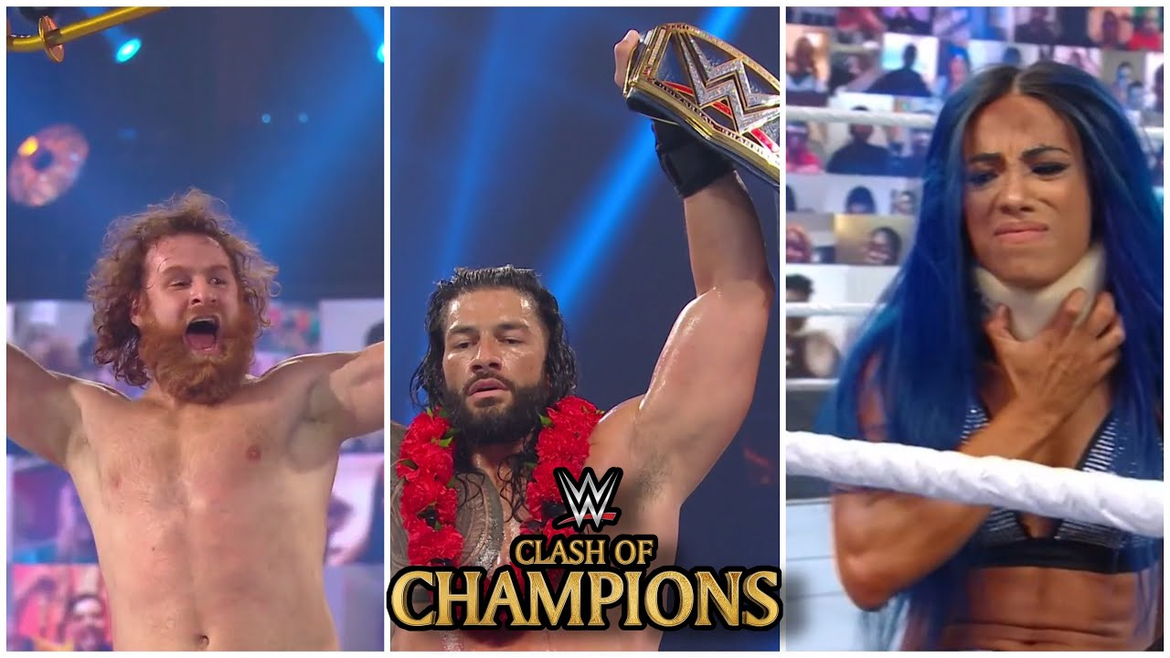 Download WWE Clash Of Champions 2020 Full Highlights | Clash Of Champions Highlights And Results!