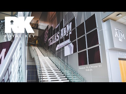 We Toured the TEXAS A&M AGGIES' FOOTBALL Facility | Royal Key