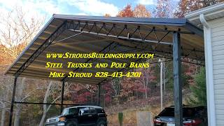 STEEL TRUSSES Details on Sizes and Layouts AWESOME